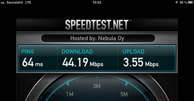 iPad mini on LTE #2 - Downtown Helsinki