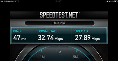 iPad mini on LTE #2 - Best result
