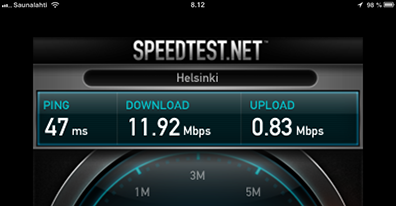 iPad mini on ADSL+Wifi